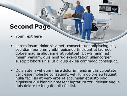 Tomography Equipment PowerPoint Template, Slide 2, 09191, Medical — PoweredTemplate.com