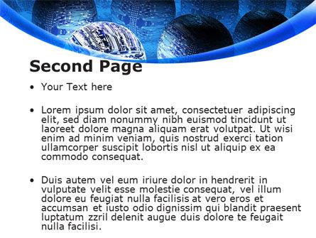 Cyber Brain PowerPoint Template Slide 2