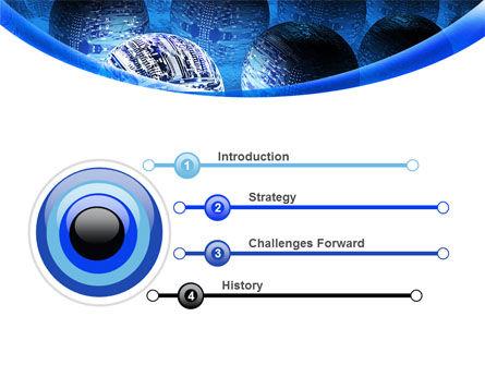 Cyber Brain PowerPoint Template Slide 3