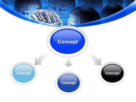 Cyber Brain PowerPoint Template Slide 4