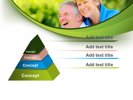 Elderly Man And Woman PowerPoint Template, Slide 4, 09193, People — PoweredTemplate.com