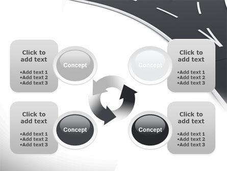 Roads Fork PowerPoint Template Slide 9