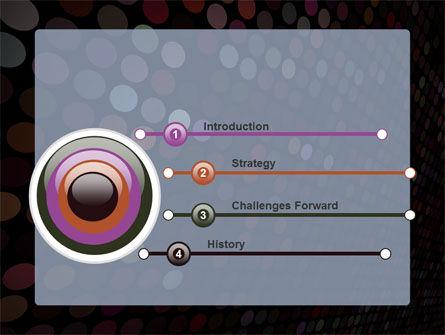 Mosaic Decor PowerPoint Template Slide 3