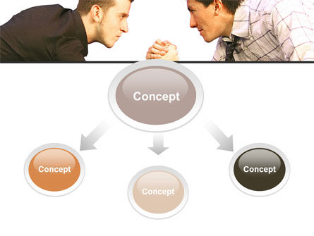 Armwrestling PowerPoint Template Slide 4