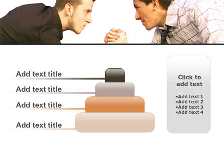 Armwrestling PowerPoint Template Slide 8