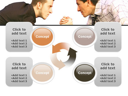 Armwrestling PowerPoint Template Slide 9