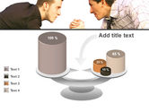 Armwrestling PowerPoint Template#10