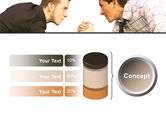 Armwrestling PowerPoint Template#11
