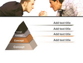 Armwrestling PowerPoint Template#12