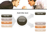 Armwrestling PowerPoint Template#14