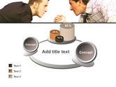 Armwrestling PowerPoint Template#16