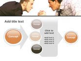 Armwrestling PowerPoint Template#17