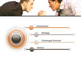 Armwrestling PowerPoint Template#3