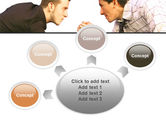 Armwrestling PowerPoint Template#7