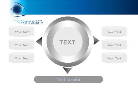 Digital Global Technologies PowerPoint Template Slide 12