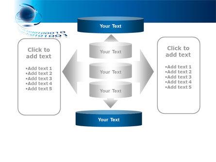 Digital Global Technologies PowerPoint Template Slide 13