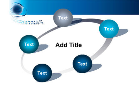 Digital Global Technologies PowerPoint Template Slide 14