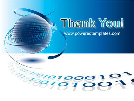 Digital Global Technologies PowerPoint Template Slide 20