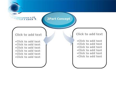 Digital Global Technologies PowerPoint Template, Slide 4, 09201, Telecommunication — PoweredTemplate.com