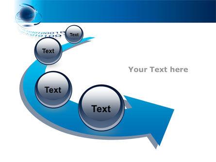 Digital Global Technologies PowerPoint Template Slide 6