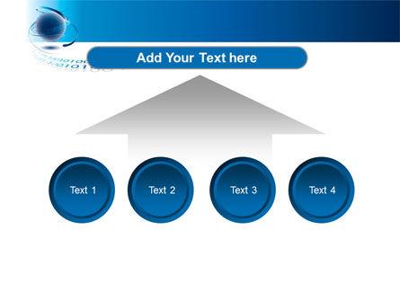 Digital Global Technologies PowerPoint Template Slide 8