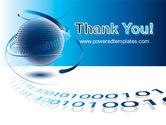 Digital Global Technologies PowerPoint Template#20