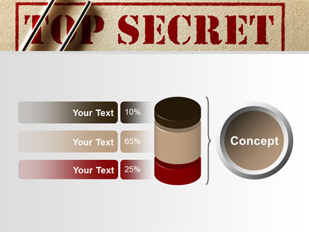 Top Secret Documents PowerPoint Template Slide 11