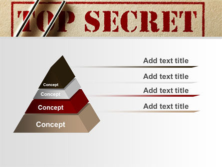 Top Secret Documents PowerPoint Template Slide 12