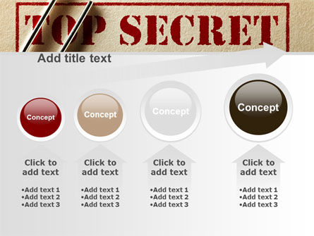 Top Secret Documents PowerPoint Template Slide 13