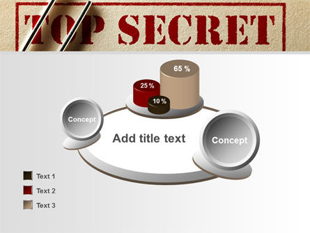 Top Secret Documents PowerPoint Template Slide 16