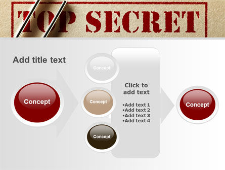 Top Secret Documents PowerPoint Template Slide 17
