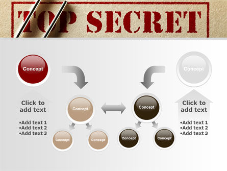 Top Secret Documents PowerPoint Template Slide 19