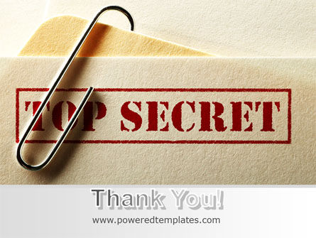 Top Secret Documents PowerPoint Template Slide 20