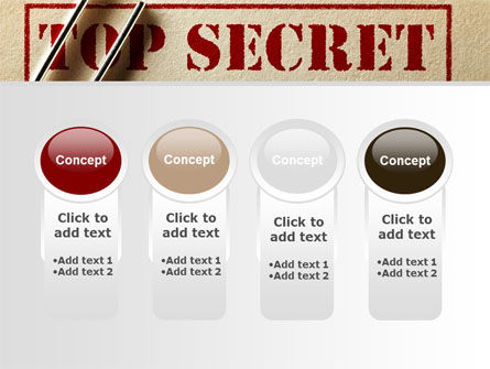Top Secret Documents PowerPoint Template Slide 5