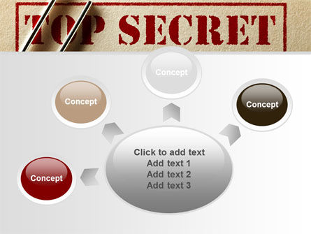 Top Secret Documents PowerPoint Template Slide 7