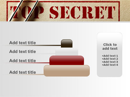 Top Secret Documents PowerPoint Template Slide 8
