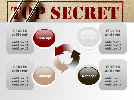 Top Secret Documents PowerPoint Template Slide 9