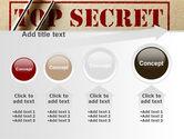 Top Secret Documents PowerPoint Template#13