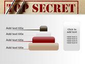 Top Secret Documents PowerPoint Template#8