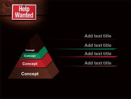 Help Wanted PowerPoint Template Slide 12