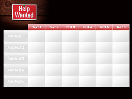 Help Wanted PowerPoint Template Slide 15