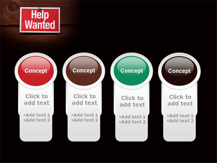 Help Wanted PowerPoint Template Slide 5