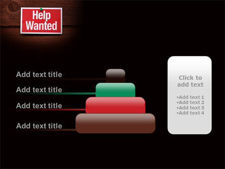 Help Wanted PowerPoint Template Slide 8