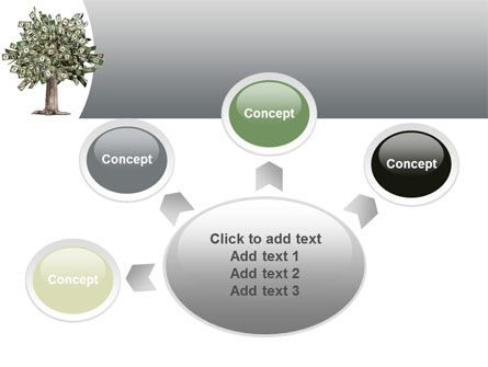 Mature Money Tree PowerPoint Template Slide 7