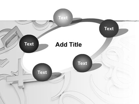 Steel Digits PowerPoint Template Slide 14