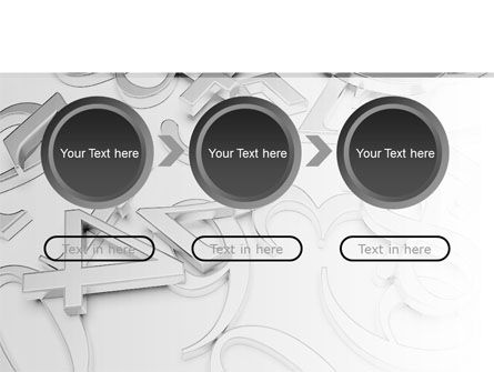 Steel Digits PowerPoint Template Slide 5