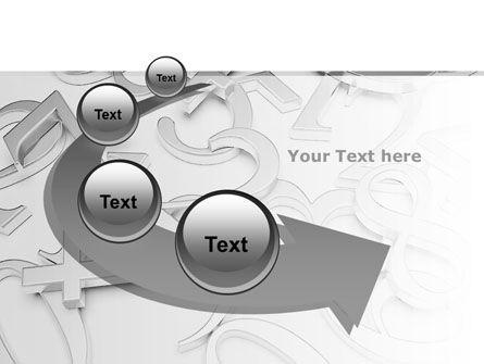 Steel Digits PowerPoint Template Slide 6
