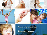 People: Mother Care PowerPoint Template #09210