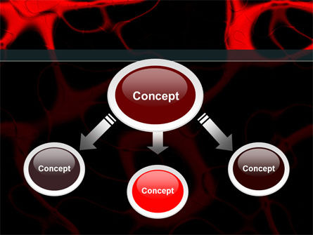 Arteries Carrying Blood PowerPoint Template, Slide 4, 09211, Medical — PoweredTemplate.com