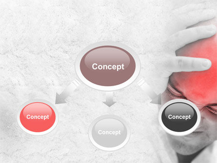 Headache PowerPoint Template, Slide 4, 09212, Medical — PoweredTemplate.com